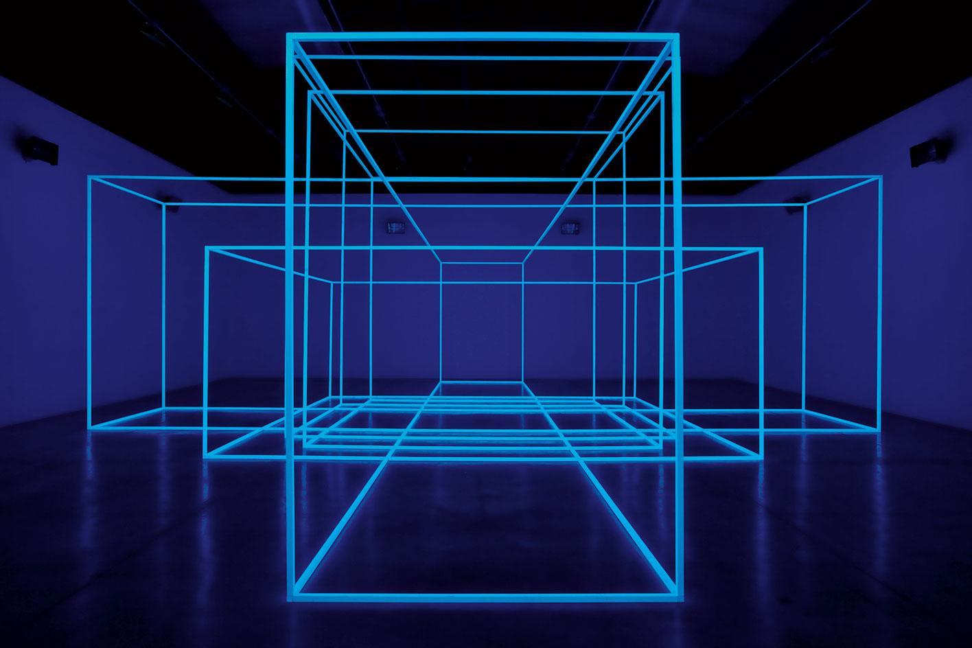 Andrea Rossetti. Chế độ xem cài đặt Art Basel Unlimited 2019.