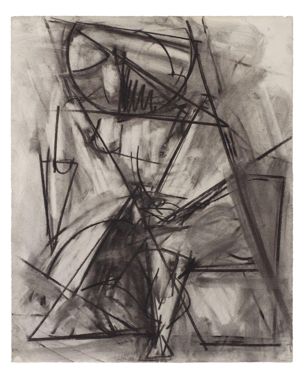 Lee Krasner, Untitled, 1939. © 2021 Pollock-Krasner Foundation / Artists Rights Society (ARS), New York. Courtesy of Kasmin.